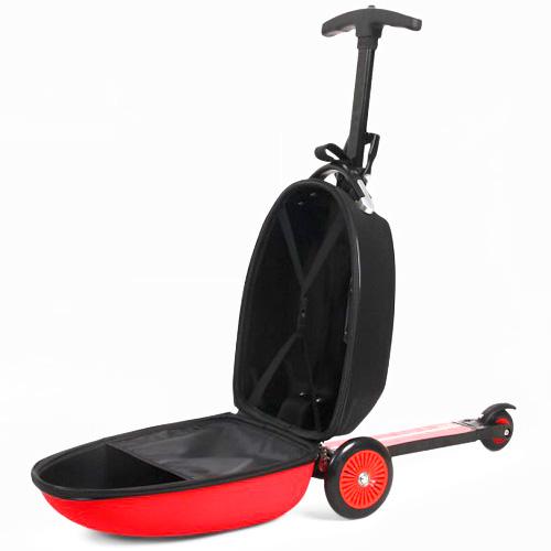 ferrari koffer kinderkoffer koffer scooter luggage roller. Black Bedroom Furniture Sets. Home Design Ideas