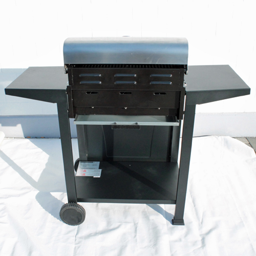 interline gasgrill 3 brenner 10 5kw. Black Bedroom Furniture Sets. Home Design Ideas